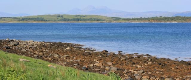 07 Loch Sween and Jura, Ruth's coastal walk, Knapdale, Scotland