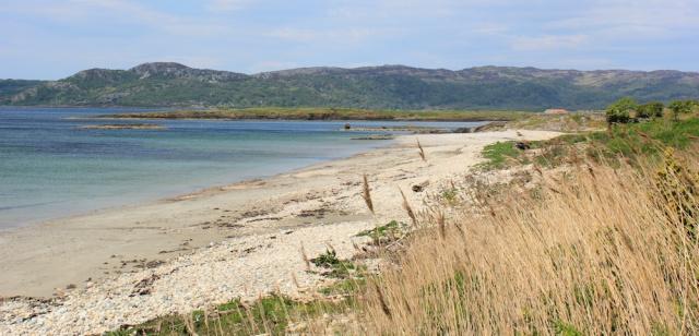 08 beach at Ormsary, Ruth's coastal walk, Argyll, Scotland