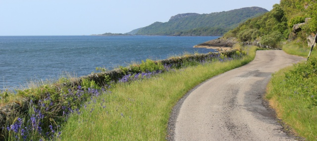 09 road to Ellary Estate, Ruth's coastal walk, Argyll, Scotland