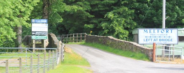 10 Melfort bridge, Ruth's coastal walk around Scotland
