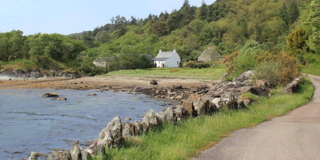 11 holiday estate, Ellary Farm, Ruth's coastal walk, Argyll, Scotland