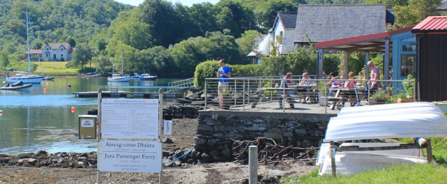 11 Jura passenger ferry and cafe, Tayvallich, Ruth Livingstone