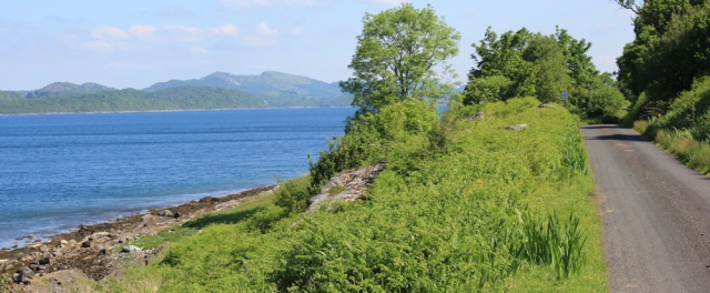 11 Ruth Livingstone walking the coast of Argyll
