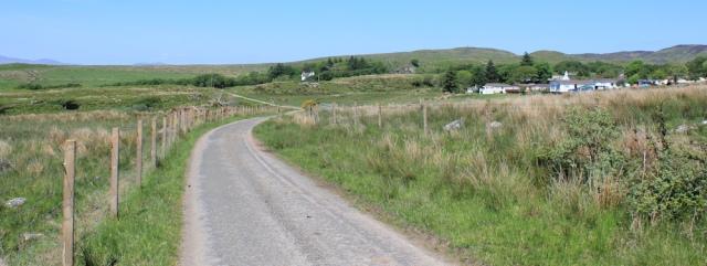 12 road to Kilmory, Ruth's coastal walk, Argyll, Scotland