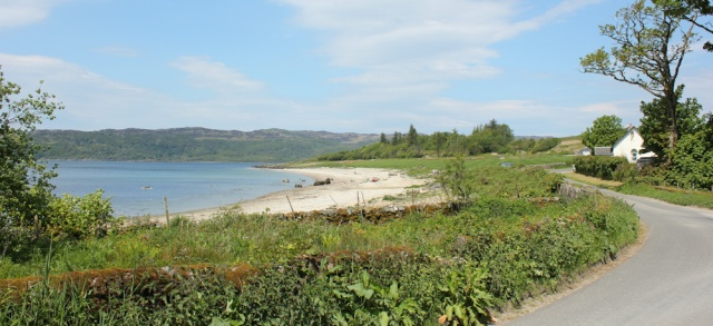 15 Ormsary beach, Ruth's coastal walk, Argyll, Scotland