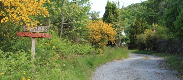 15 track to Crinan Harbour, Ruth's coastal walk, Argyll
