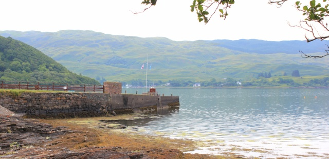 16 Melfort Pier, Ruth's coastal walk around Scotland