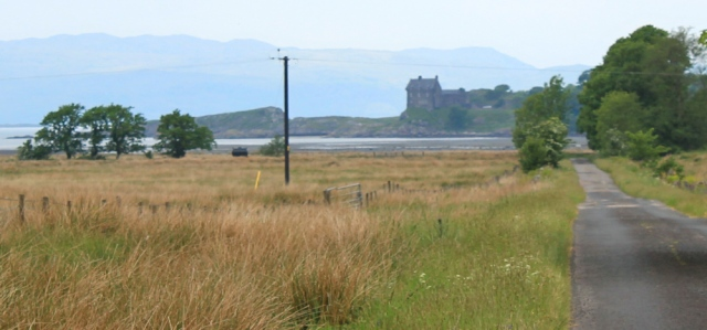 16 to Duntrune Castle, Ruth's coastal walk, Scotland