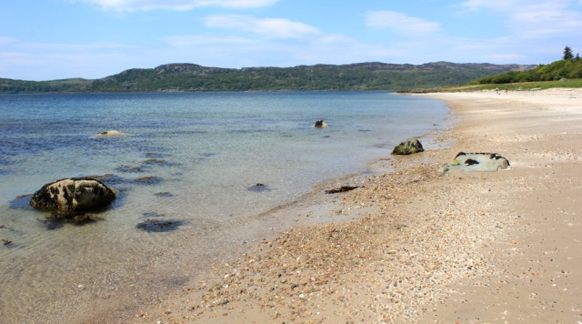 17 beach walking, Ormsary, Ruth's coastal walk, Argyll, Scotland