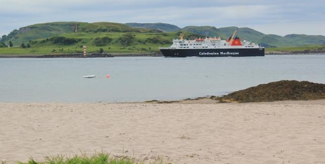 17 Camas Ban, Oban, Ruth walking the coast of Scotland