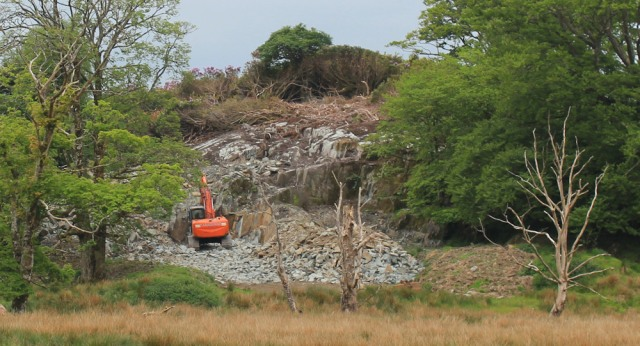 17 quarry, near Crinan Ferry, Ruth's coastal walk, Scotland