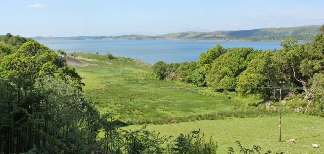17 view over Loch Sween, Ruth's coastal walk, Knapdale, Scotland