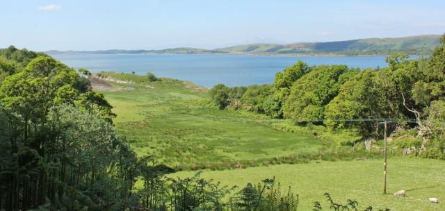 17 view over Loch Sween, Ruth's coastal walk, Knapdale, Scotland
