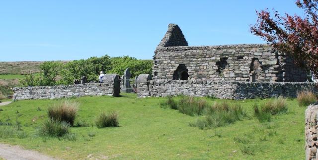 18 Kilmory Knapp chapel, Ruth's coastal walk, Argyll, Scotland
