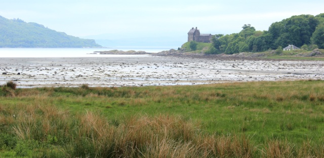 19 Duntrune Castle, Ruth's coastal walk, Scotland
