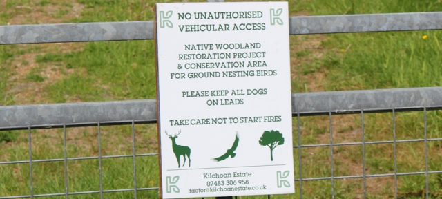 19 native woodland restoration project, Ruth's coastal walk around Scotland