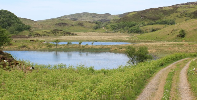 19 secret valley with 2 lochs, Ruth's coastal walk, Argyll, Scotland