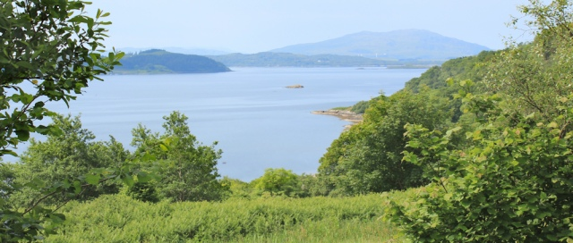 20 view over Loch Melfort, Ruth's coastal walk around Scotland