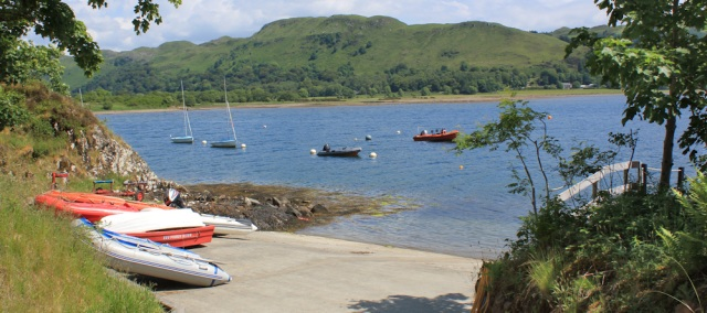 21 boats, Eilean Traighte, Ruth's coastal walk, Scotland