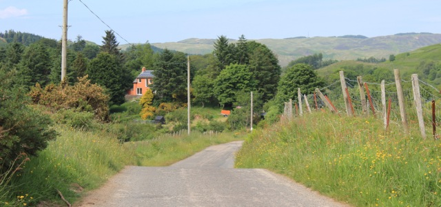 28 back road to Craobh Haven, Ruth's coastal walk, Scotland