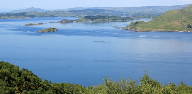 28 wonderful views, Crinan, Ruth's coastal walk, Argyll