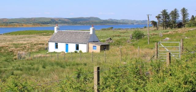 29 crofter cottage, Ruth's coastal walk, Argyll, Scotland