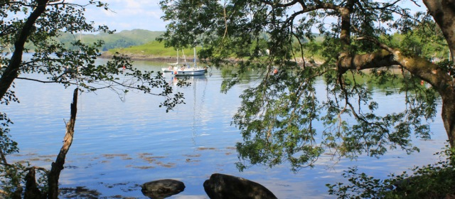 30 shore path to Crinan, Ruth's coastal walk, Argyll
