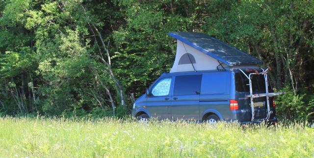 31 camper van, Ruth's coastal walk, Knapdale, Scotland