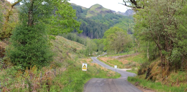 31 logging signs, Achahoish, Ruth's coastal walk, Argyll, Scotland