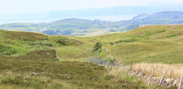 32 lunch time view over Seil, Ruth's coastal walk around Scotland