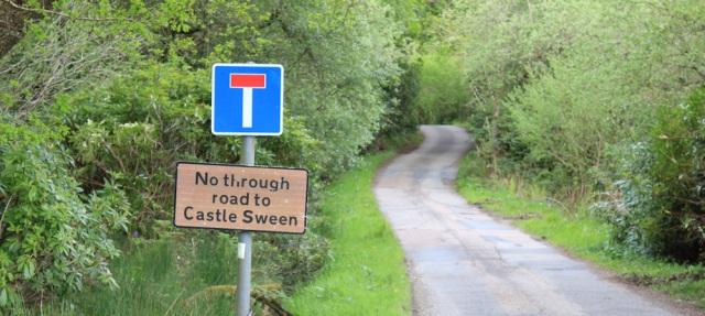 33 no road to Castle Sween, Achahoish, Ruth's coastal walk, Argyll, Scotland