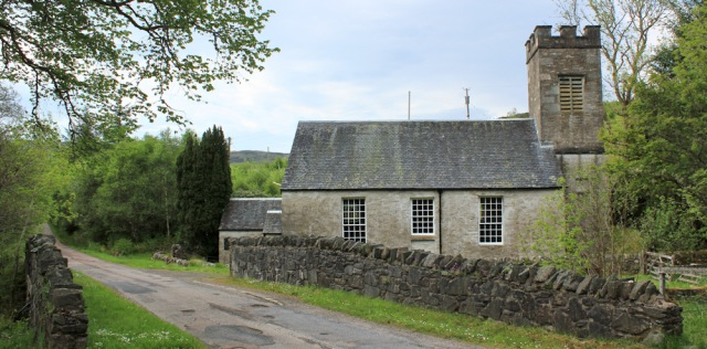 35 Achahoish church, Ruth's coastal walk, Argyll, Scotland