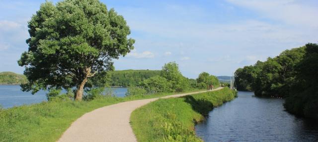 40 walk along the Crinan Canal, Ruth's coastal walk, Argyll