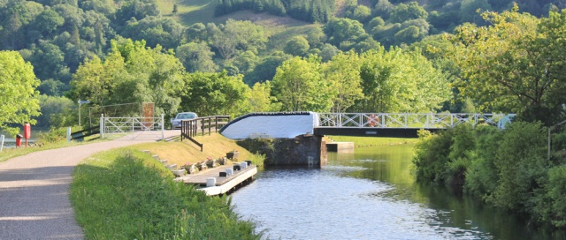 41 swing bridges, Crinan Canal, Ruth's coastal walk, Argyll