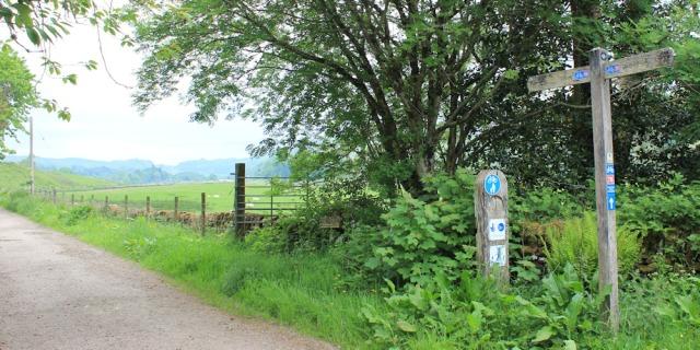 43 cycle track to Kilmartin, Ruth's coastal walk, Scotland