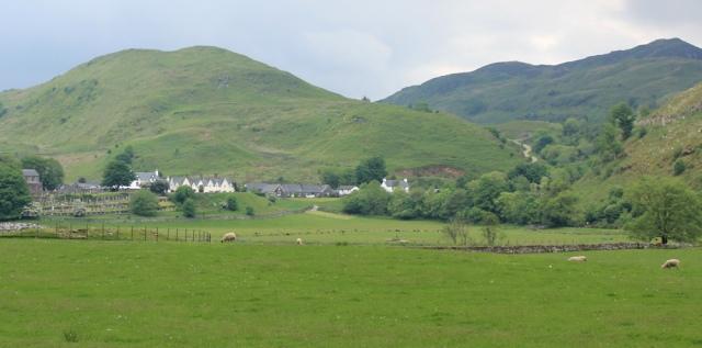 44 Kilmartin across the fields, Ruth's coastal walk, Scotland