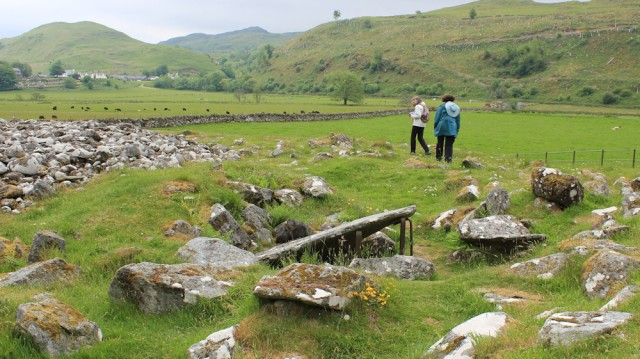 47 burial carins, Kilmartin, Ruth's coastal walk, Scotland
