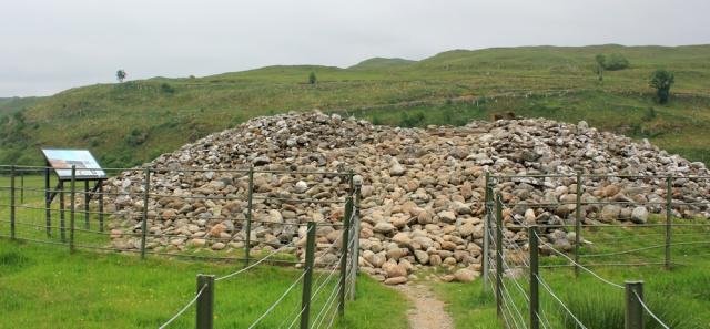 48 Nether Largie North cairn, Ruth's coastal walk, Scotland