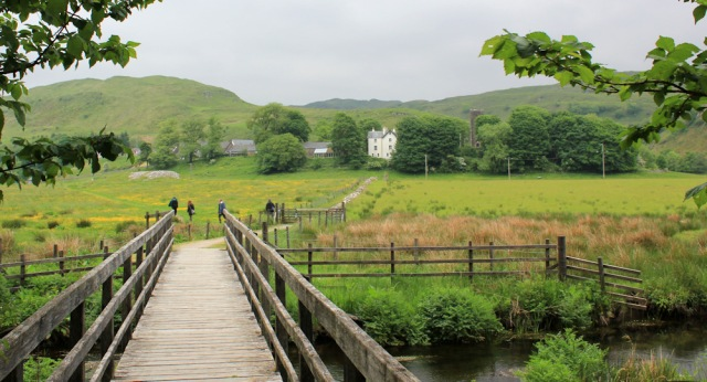 50 path to Kilmartin, Ruth's coastal walk, Scotland