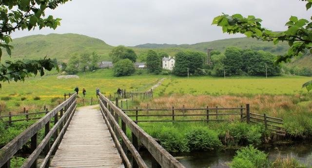 50 path to Kilmartin, Ruth's coastal walk, Scotland
