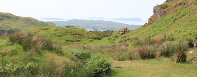 51 view over Seil Sound, Ruth's walk around Scotland's coast