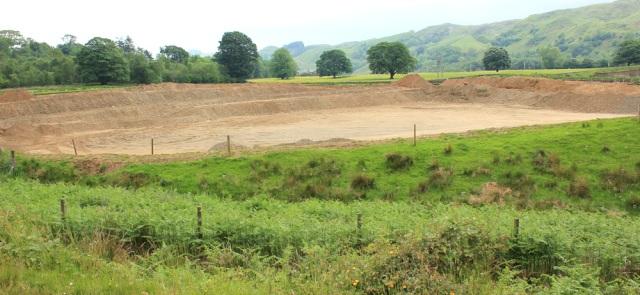 53 gravel workings, Kilmartin, Ruth's coastal walk, Scotland