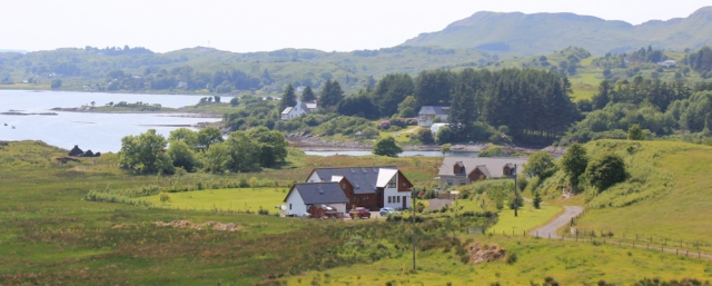 62 near Clachan Bridge, Ruth's walk around Scotland's coast