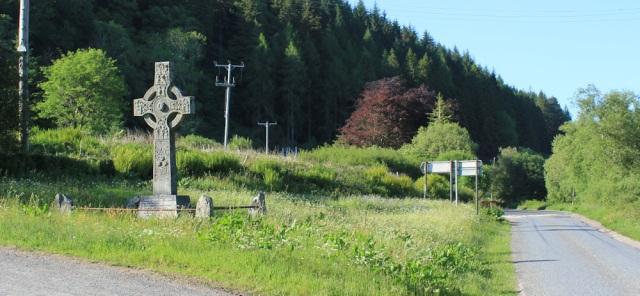 67 memorial junction, Barnluasgan, Ruth walking the coast of Argyll, Scotland