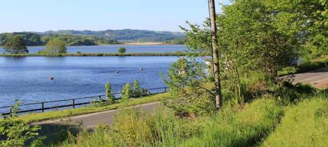 74 Bellanoch Hill to the Crinan Canal, Ruth walking the coast of Argyll, Scotland