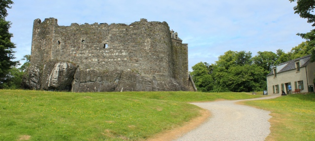 61 Dunstaffnage Castle, Ruth's coastal walk, Scotland, near Oban
