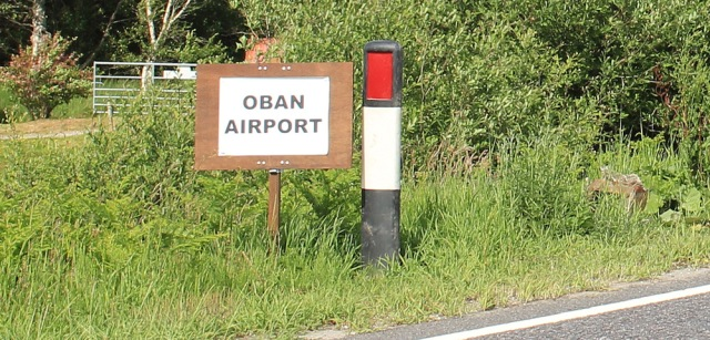 68 Oban Airport, Ruth's coastal walk, Scotland