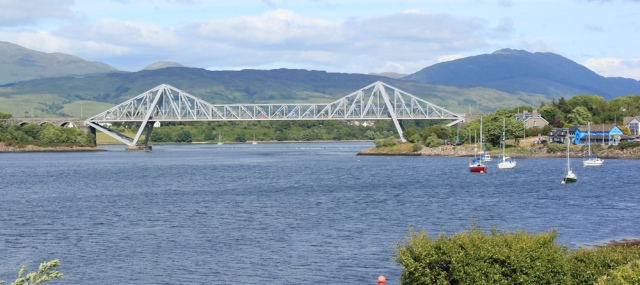 70 Connel Bridge, Ruth's coastal walk, Scotland