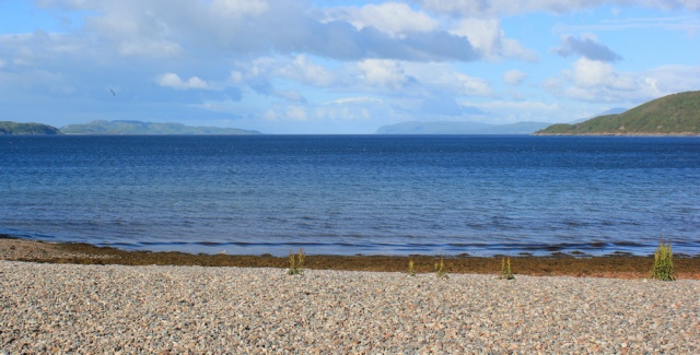 04 view over Ardmuchnish Bay, Ruth's coastal walk in Scotland