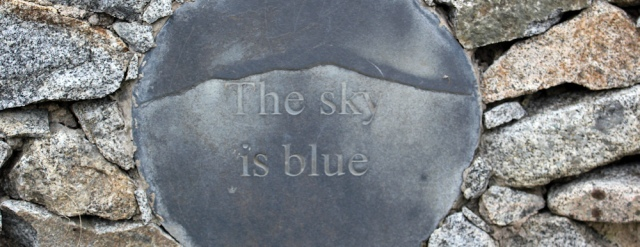 11b the sky is blue, Ruth Livingstone